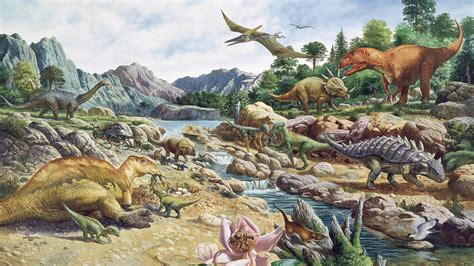 Maybe Dinosaurs Were A Coldblooded, Warmblooded Mix : NPR