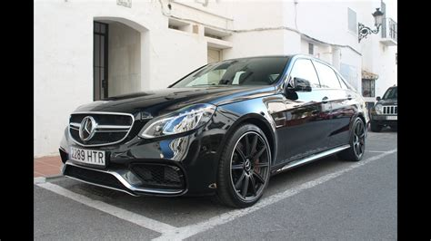 2014 Mercedes E63 AMG S on road - Sound and details - YouTube