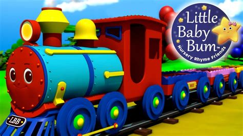 Learn with Little Baby Bum | The Color Train Song | Learn