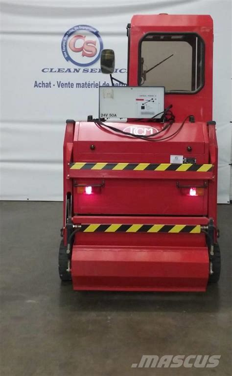 Used RCM R955E sweepers Year: 1995 Price: US$ 9,352 for