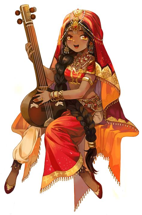 Indian Clothes - Traditional Clothes - Zerochan Anime