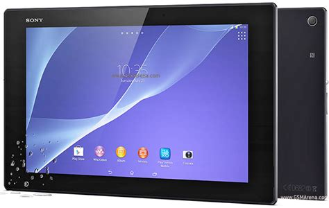 Sony Xperia Z2 Tablet LTE pictures, official photos