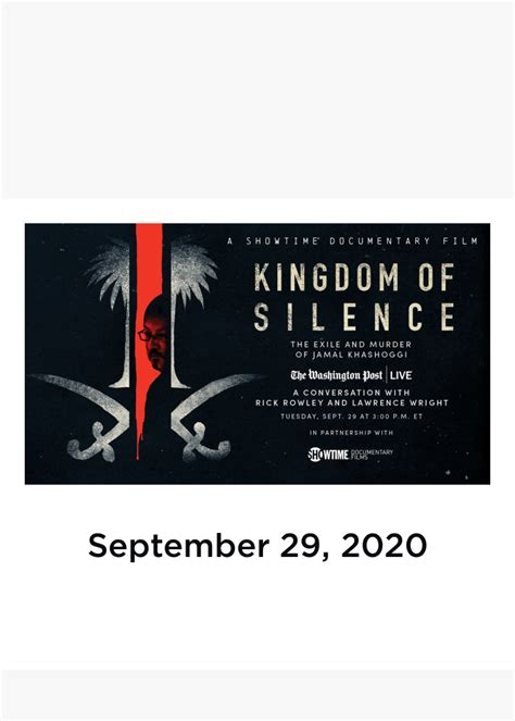 Kingdom of Silence: A Conversation with Rick Rowley and