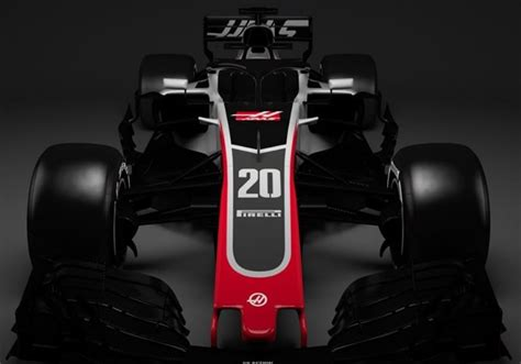 Hello halo: Haas breaks cover with F1 reveal   Wheels24