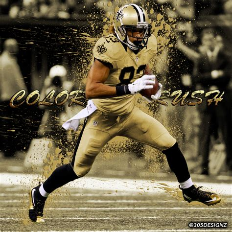 Willie Snead New Orleans Saints color rush concept on Behance