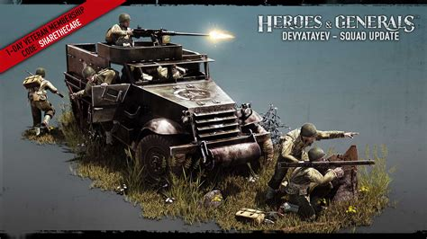 Devyatayev - Squad Update is here introducing New Squad