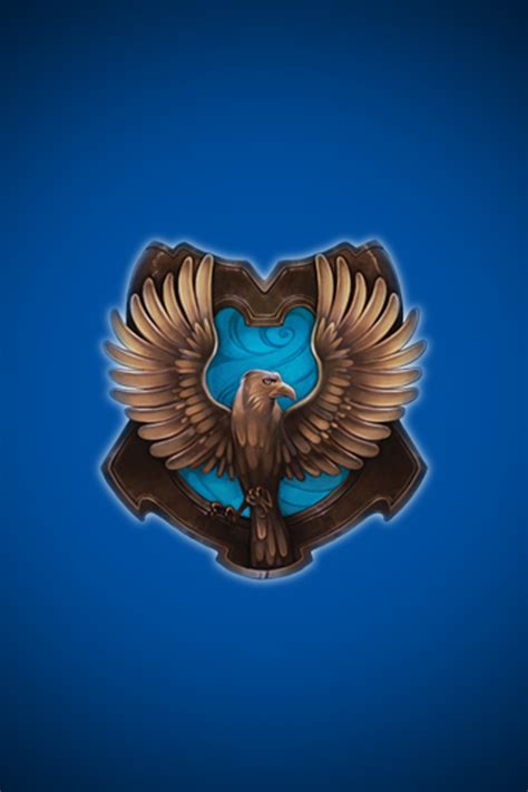 Ravenclaw House Crest on Pottermore (my personal house