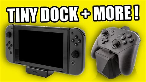 TINY Nintendo Switch DOCK & 15 NEW Accessories from Nyko