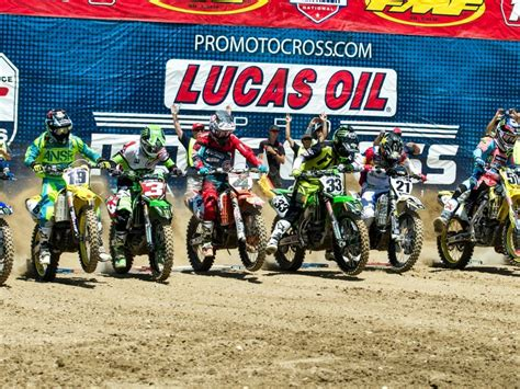 2018 Lucas Oil AMA Pro Motocross Schedule - Cycle News