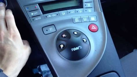 How to Install Prius Push Button Shifter GUIDE Tom's 55404