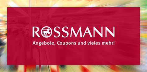 Rossmann - Coupons & Angebote – Apps bei Google Play
