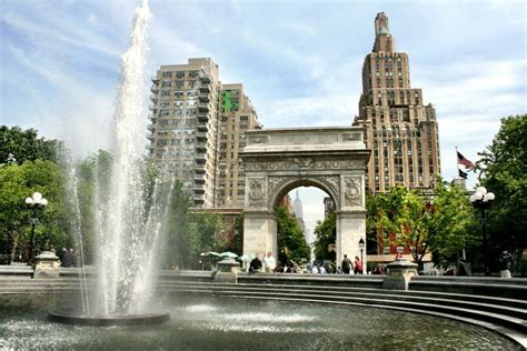 Check out the beautiful Washington Square in New York City