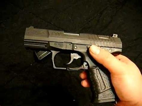 Walther P99 AS 9mm Review (Real Pistol) - YouTube