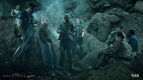 We go to hell with the first episode of 'Halo: Nightfall
