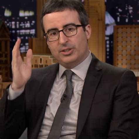 John Oliver Tells Jimmy Fallon About His Wife's