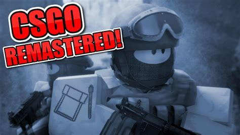 Csgo In Roblox Remastered - New Promo Codes For Roblox
