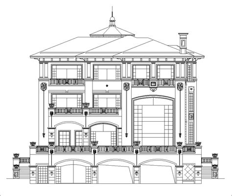 Luxury Villa Plans】Affordable Home Plans, Colonial Home