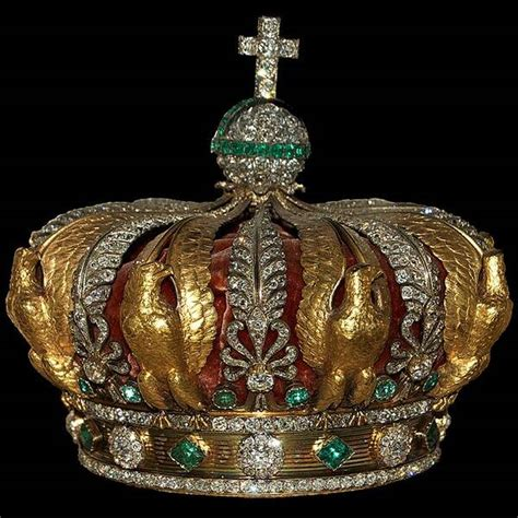 France's Crown of Empress Eugénie from Stunning Royal