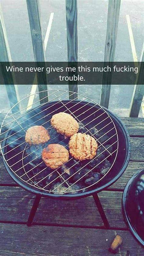 Let's All Laugh At This Girl's Snapchat Story Of Grilling
