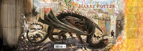 'Harry Potter and the Goblet of Fire' Illustrated Edition